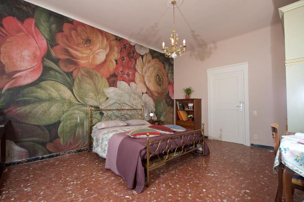 Cama ou camas em um quarto em Liberi Mercanti