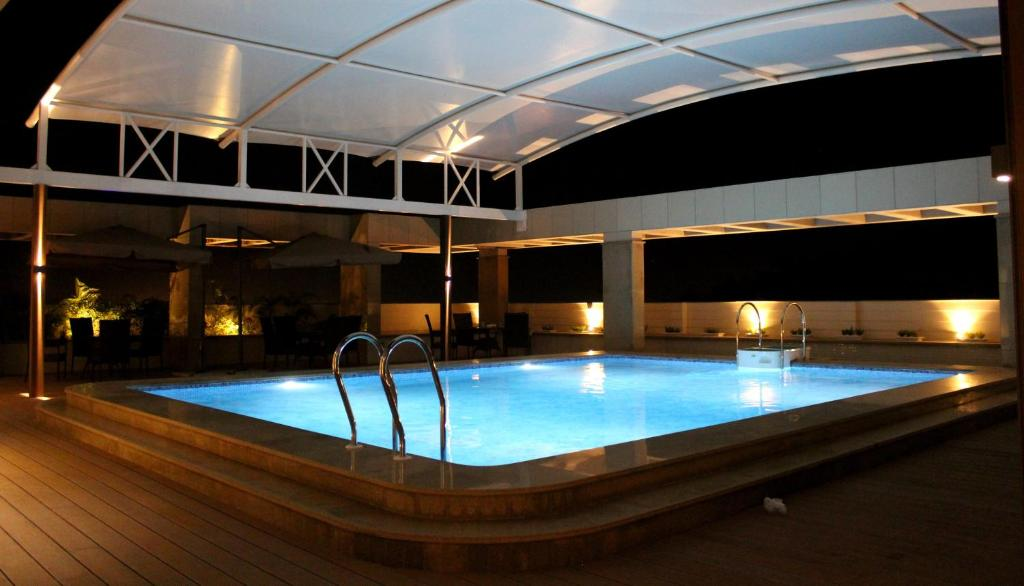 The swimming pool at or near Blu Feather Hotel & Spa
