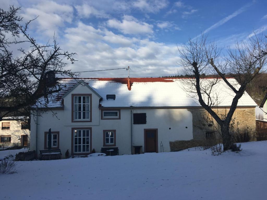 Landhaus Loogh im Winter