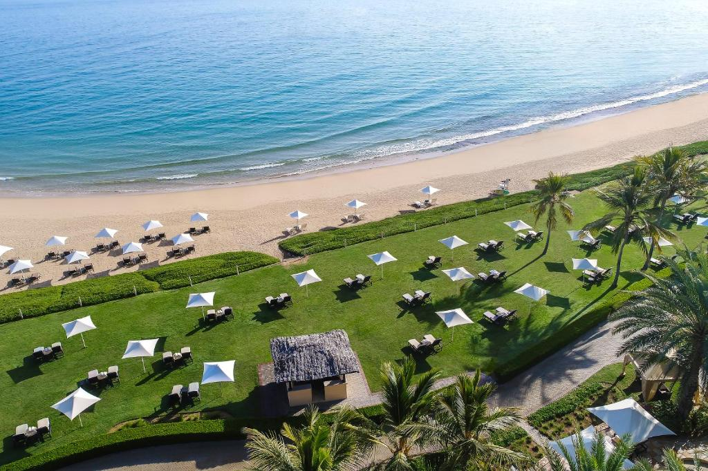 A bird's-eye view of Shangri-La Barr Al Jissah Resort & Spa