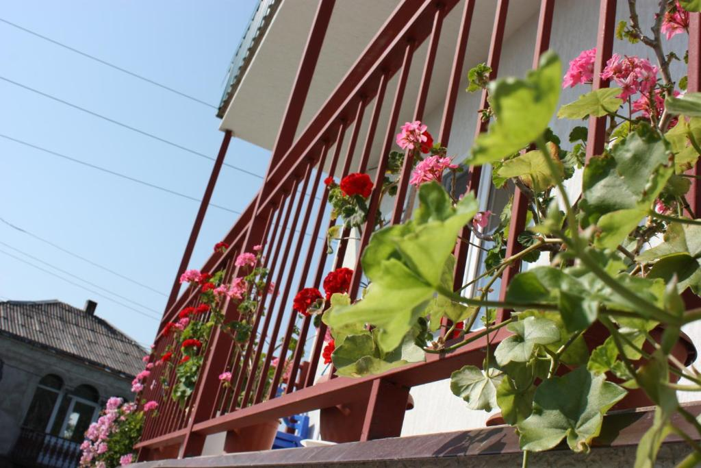 A balcony or terrace at U Rimmy Guest House