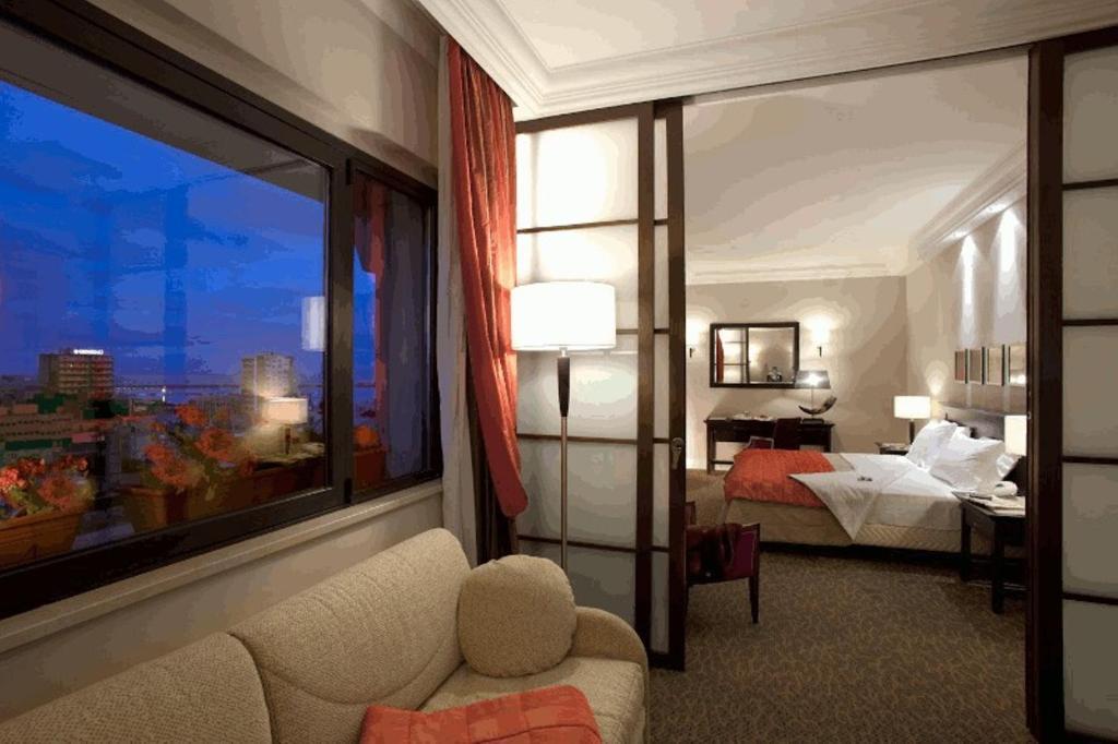 Гостиная зона в Hotel Regina Margherita