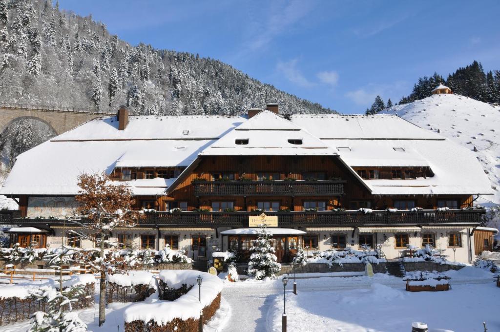 Hotel Hofgut Sternen during the winter