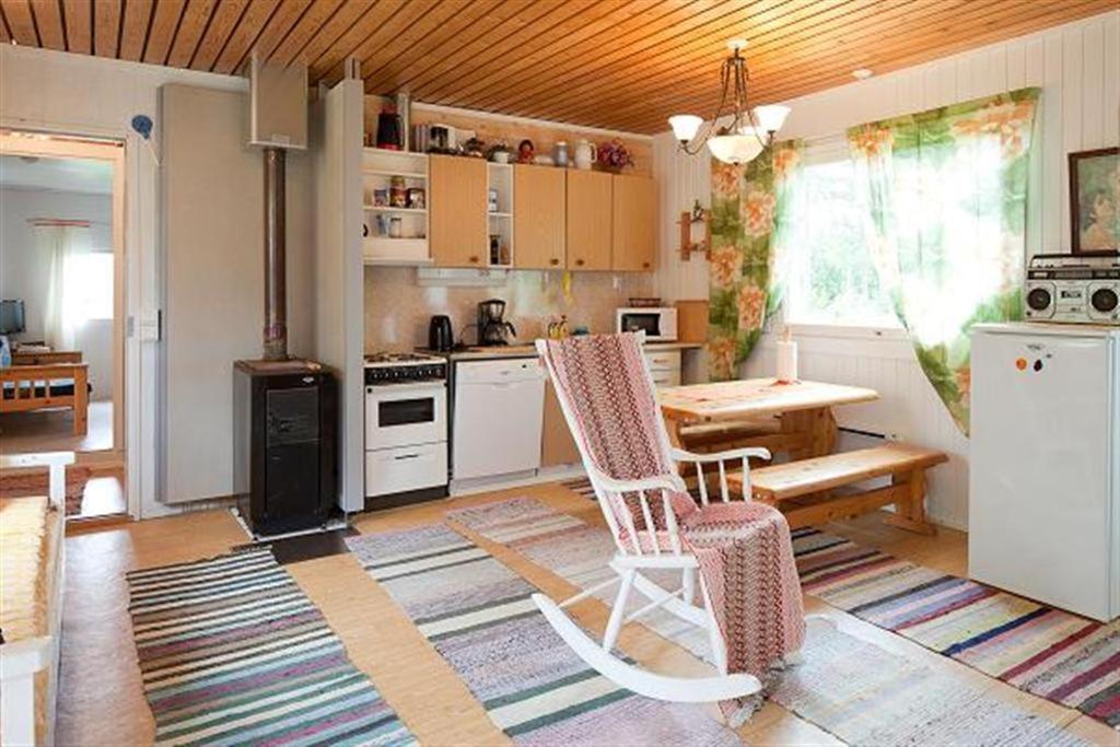 Heidin Mummola Farm tesisinde mutfak veya mini mutfak