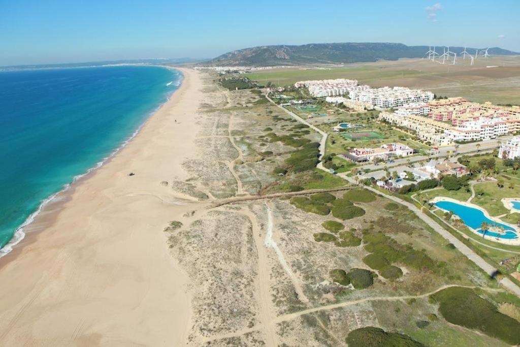 A bird's-eye view of Apartamentos Vacacionales Atlanterra