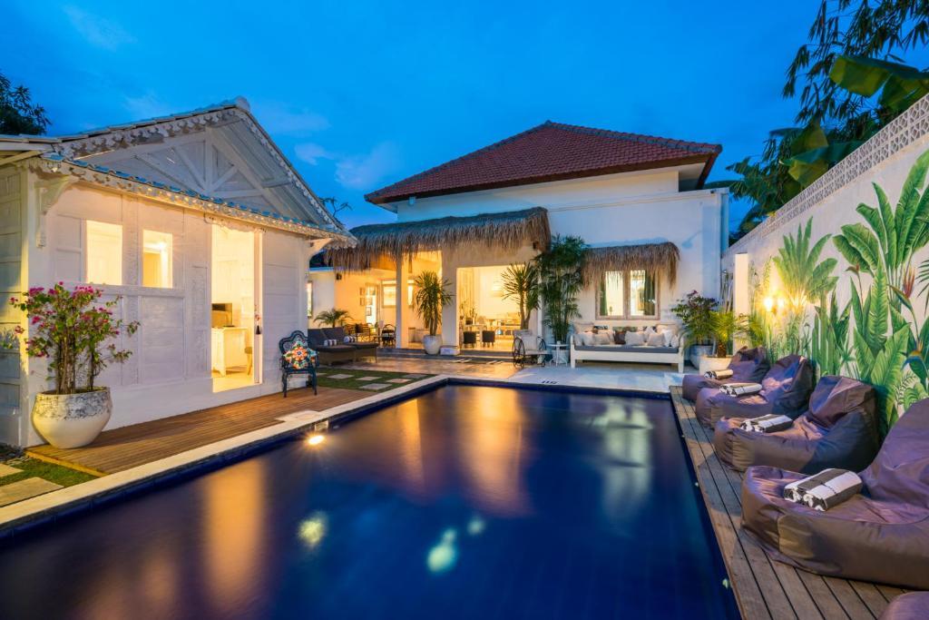The swimming pool at or near Gypsy Moon Bali