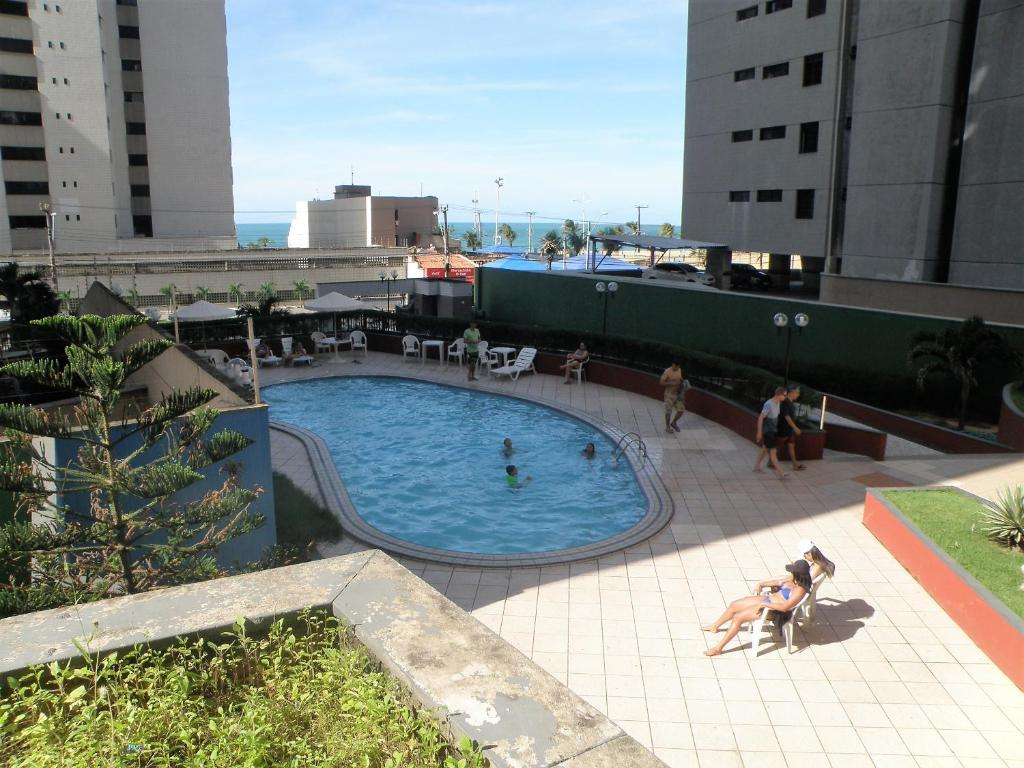 A view of the pool at Porto de Iracema Apartment 2 Quartos/ 2 Bedrooms) or nearby