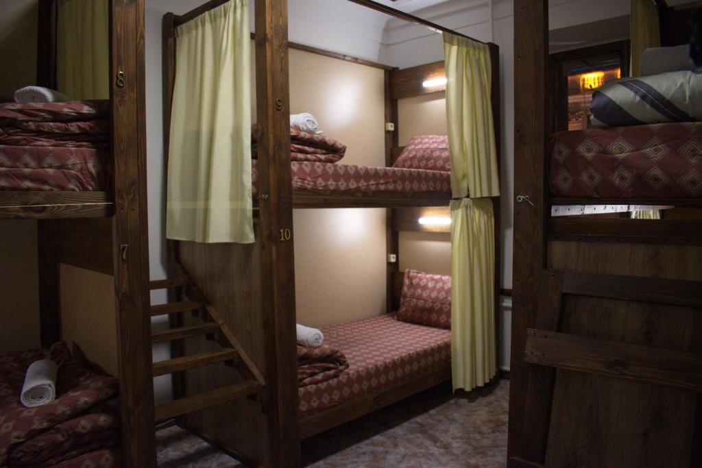 A bunk bed or bunk beds in a room at Stary Minsk / Self check-in