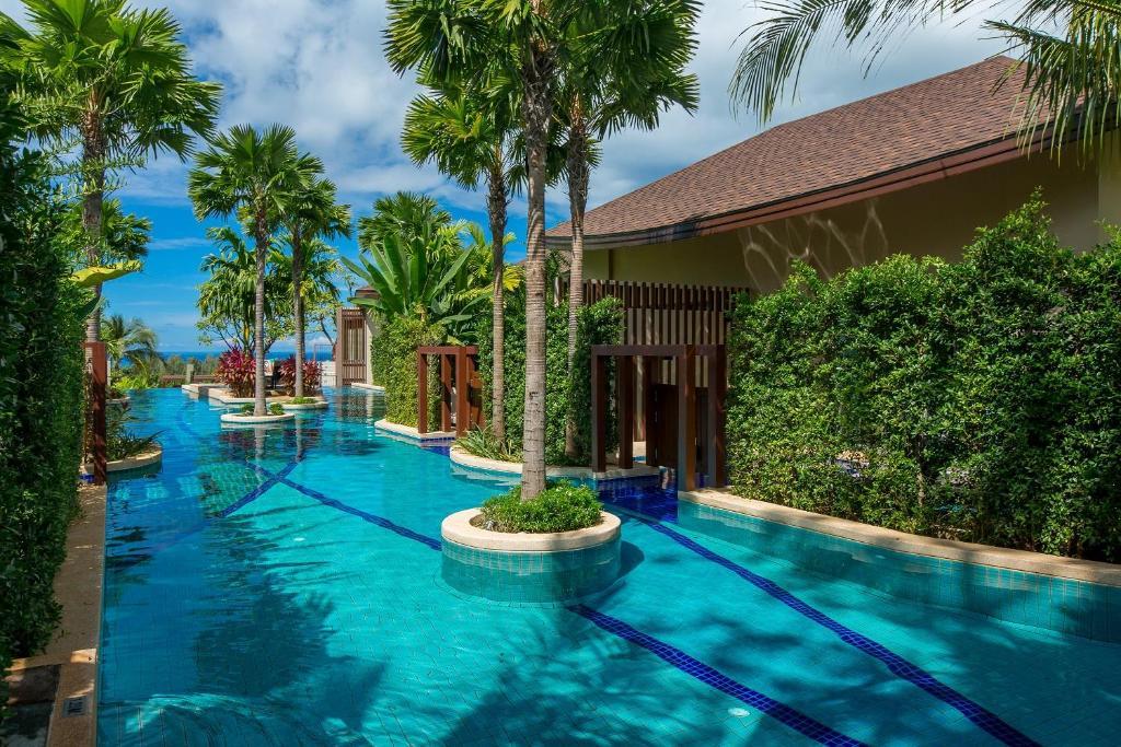 The swimming pool at or near Mandarava Resort and Spa, Karon Beach