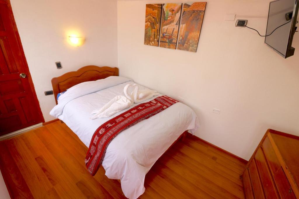 Cama o camas de una habitación en Hotel Choquequiraw Inn
