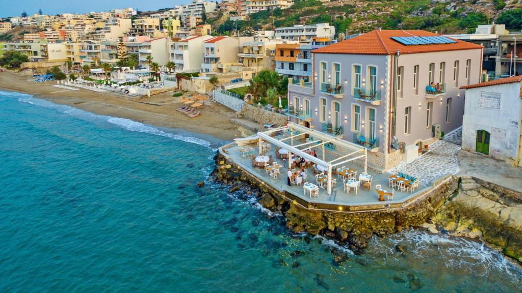 Vista aerea di Thalassa Boutique Hotel