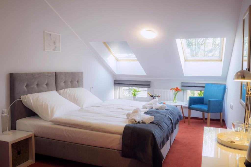 Cama o camas de una habitación en Hotel Inner City