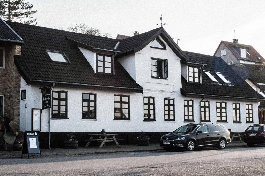 Hotel Den Gyldne Hane през зимата