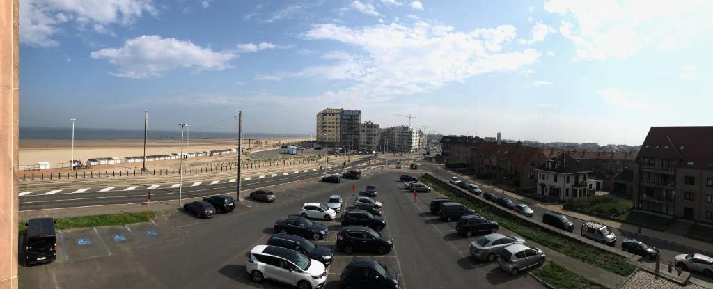 Ein allgemeiner Blick auf Ostende oder ein Stadtblick von der Ferienwohnung aus