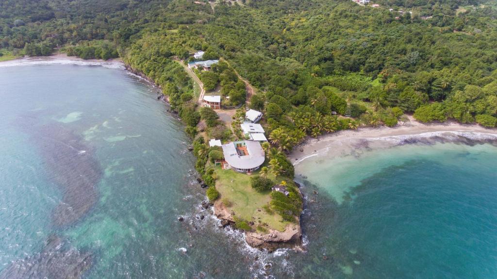 A bird's-eye view of Cabier Ocean Lodge