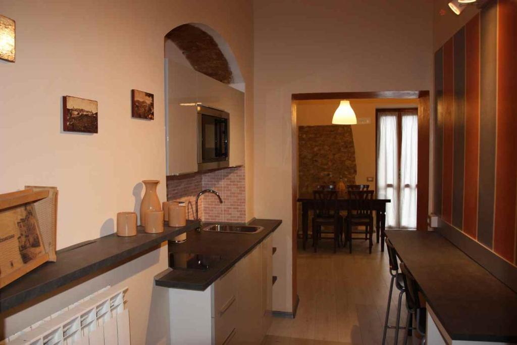 Cucina o angolo cottura di Casetta Antica Umbria