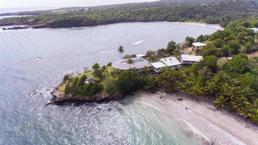 Blick auf Cabier Ocean Lodge aus der Vogelperspektive