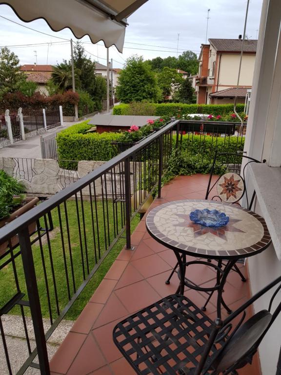 Balcone o terrazza di Casa Marina