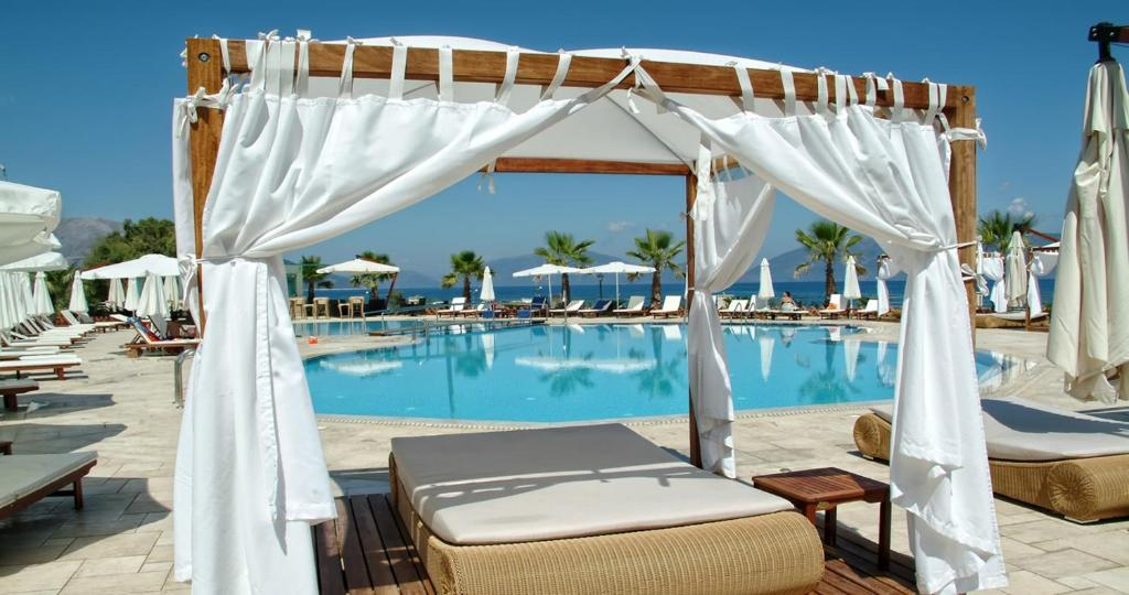 The swimming pool at or near Ionian Emerald Resort