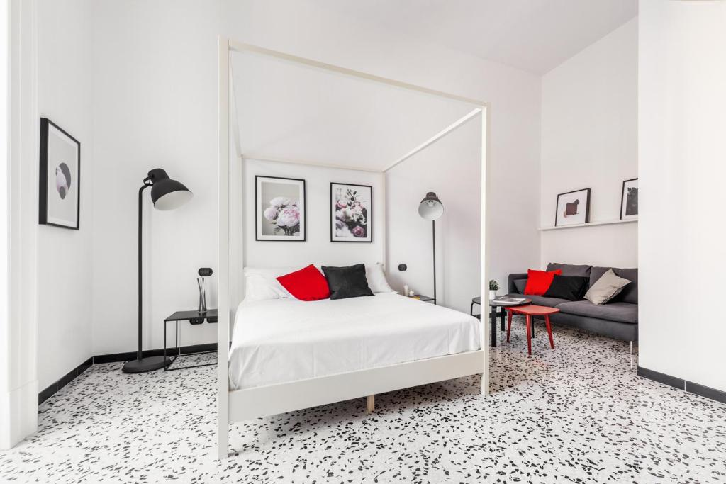 A bed or beds in a room at mrg home holiday