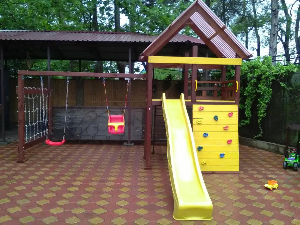 Children's play area at Guest House Aton