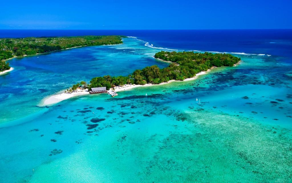 A bird's-eye view of Erakor Island Resort & Spa