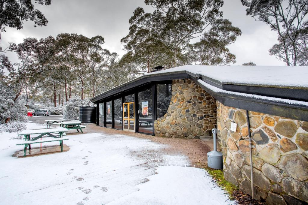 Discovery Parks – Cradle Mountain during the winter