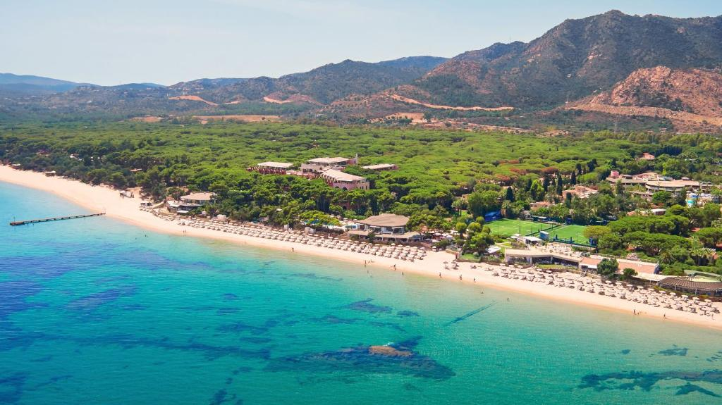 A bird's-eye view of Forte Village Resort - Pineta