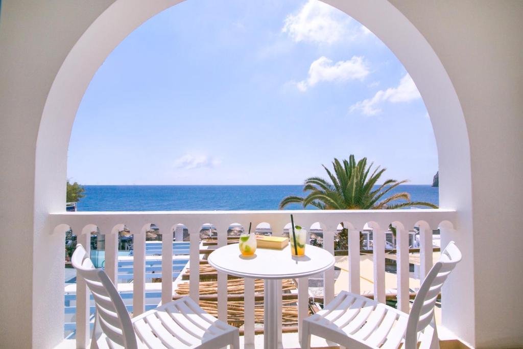 Een balkon of terras bij Hotel Sunshine