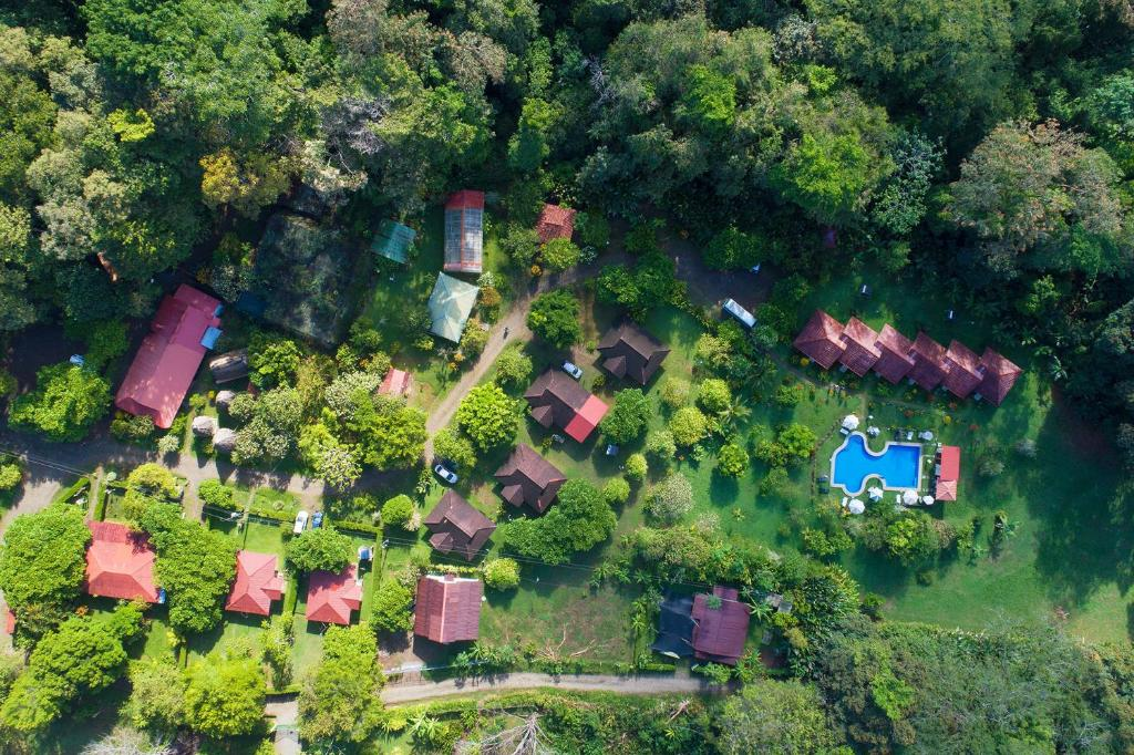 A bird's-eye view of Hacienda Baru