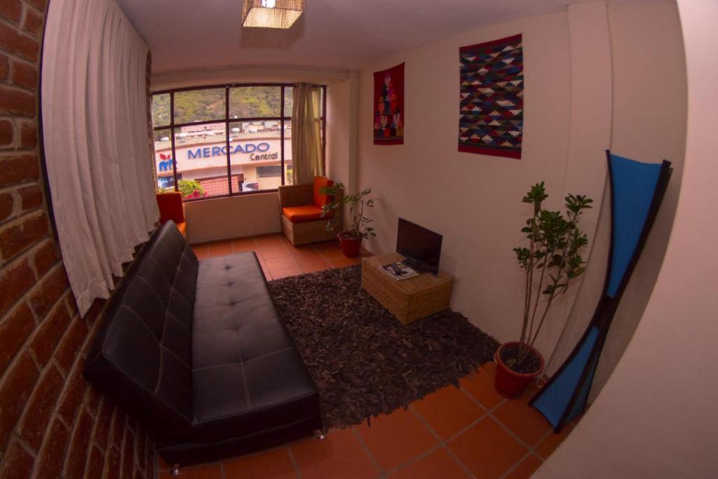 A seating area at Samay Apart