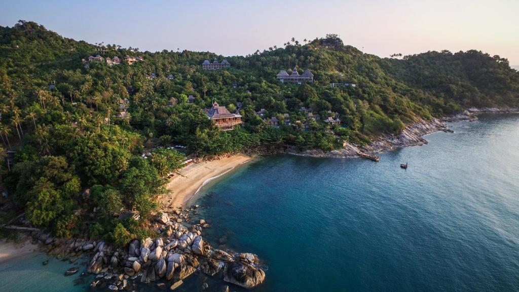 A bird's-eye view of Santhiya Koh Phangan Resort and Spa