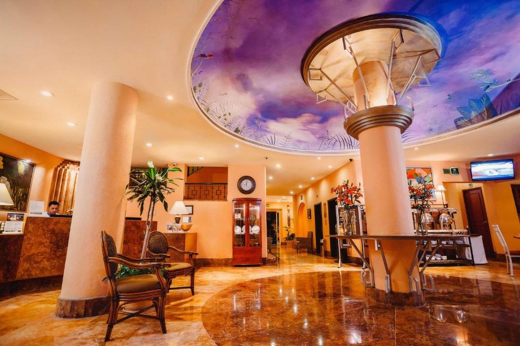 Lobi ili recepcija u objektu Best Western Hotel Posada Freeman Centro Historico