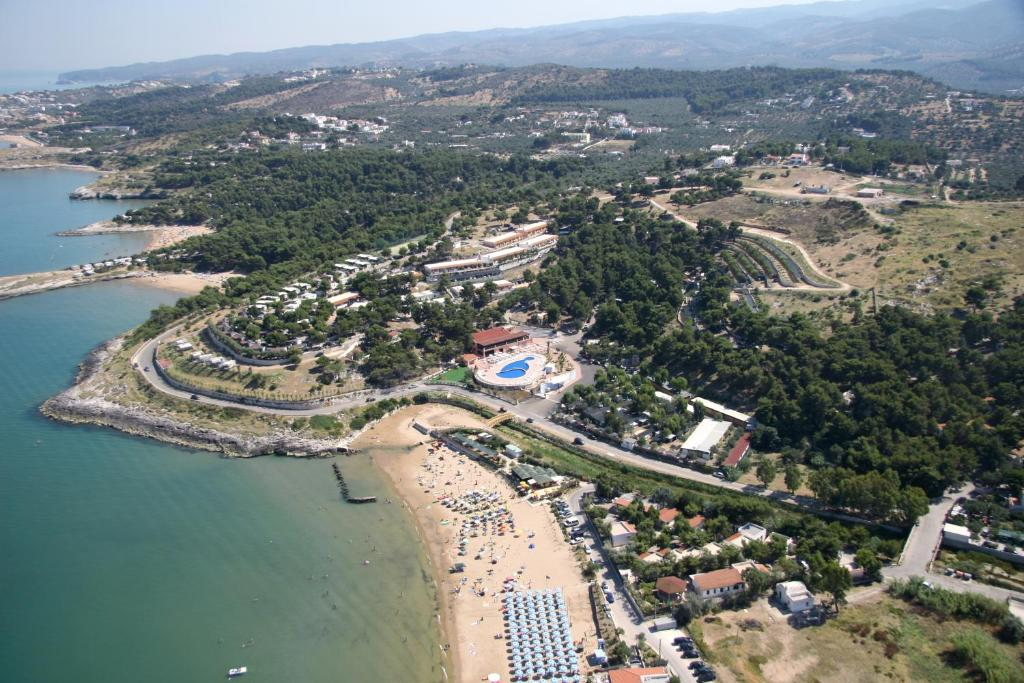 Vista aerea di Villaggio La Giara