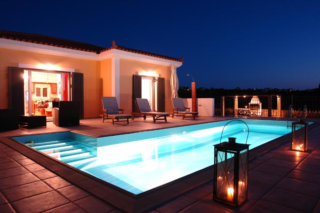 The swimming pool at or near Europes Villas