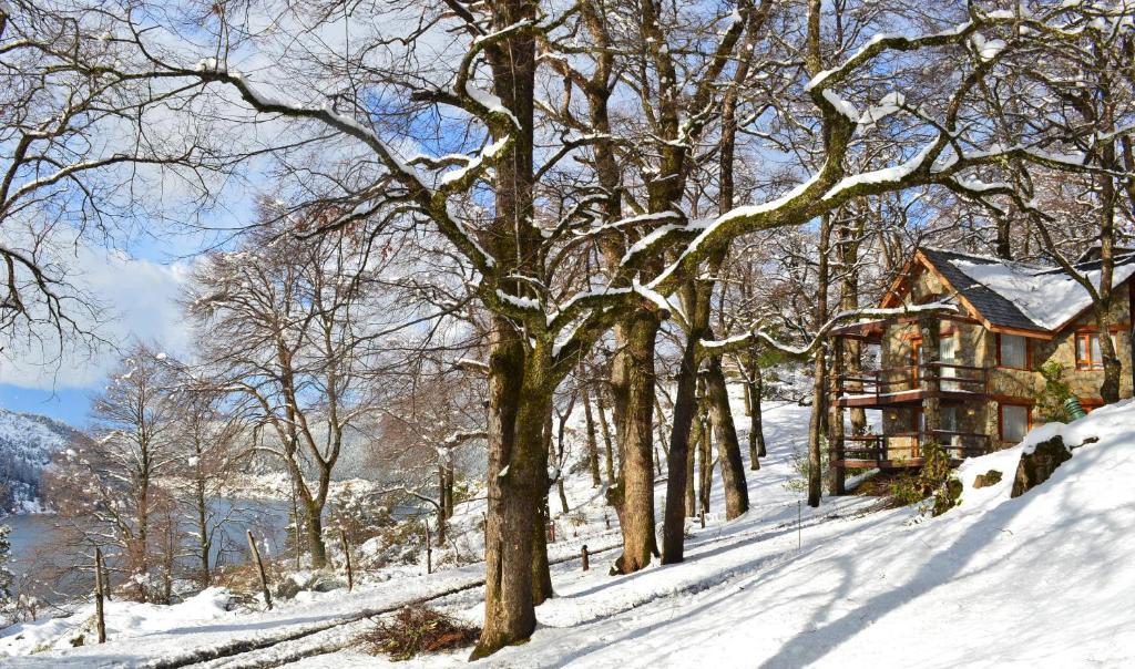 Paihuen - Resort De Montaña durante el invierno