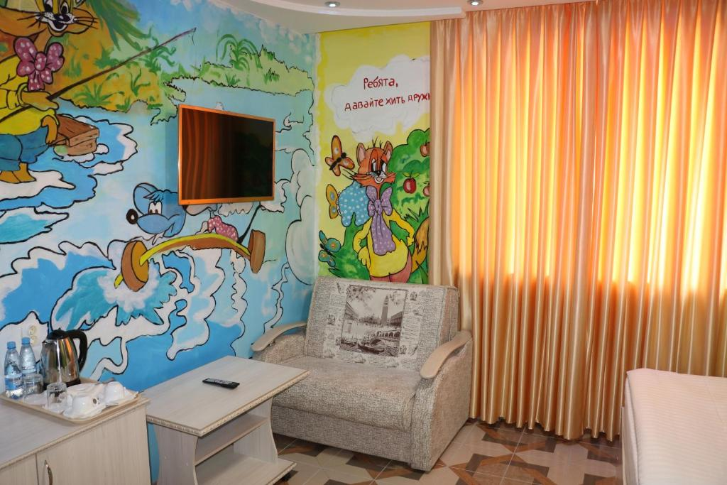 Гостиная зона в Hotel Zamok Korolya