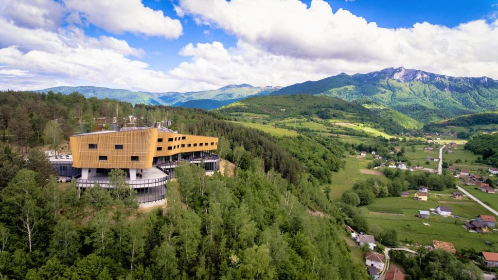 A bird's-eye view of Tarcin Forest Resort and Spa MGallery by Sofitel
