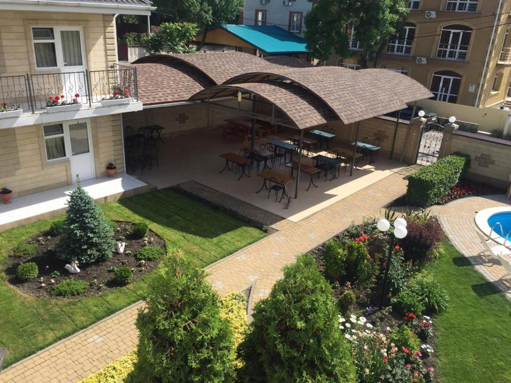 A bird's-eye view of Guest House Belaya Lebed