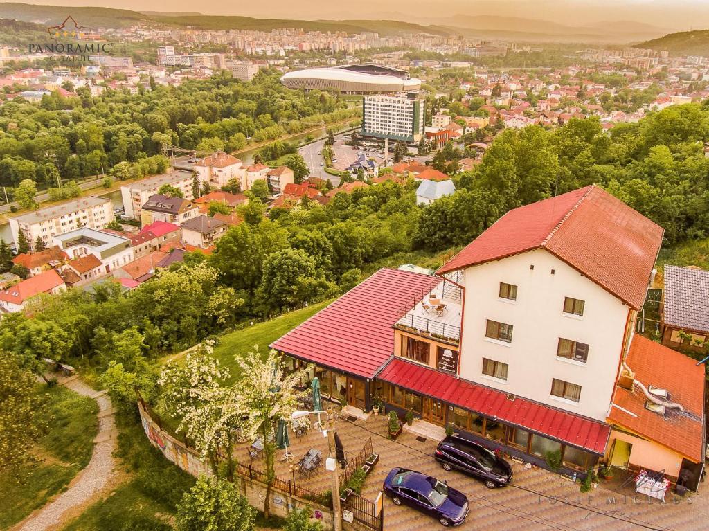 Vedere de sus a Panoramic Cetatuie