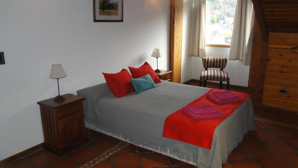 Una cama o camas en una habitación de Departamento centrico