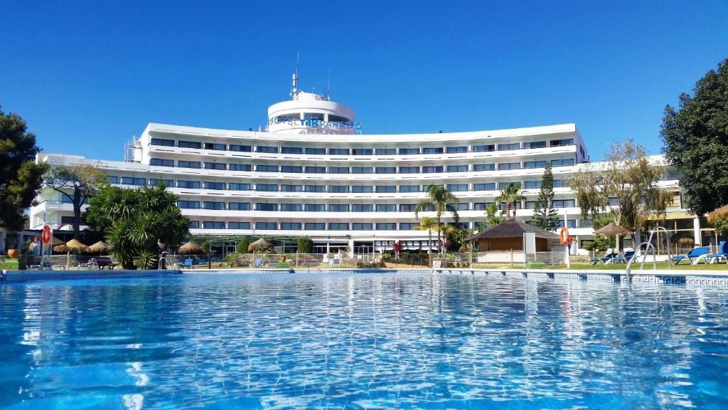 The swimming pool at or near TRH Paraíso
