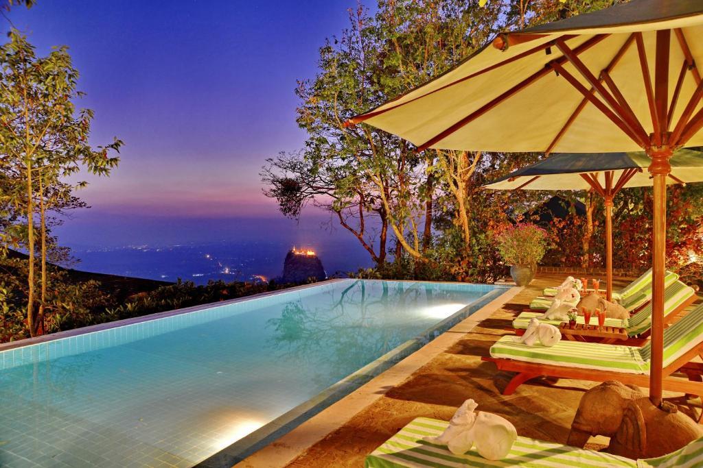 Piscina en o cerca de Popa Mountain Resort