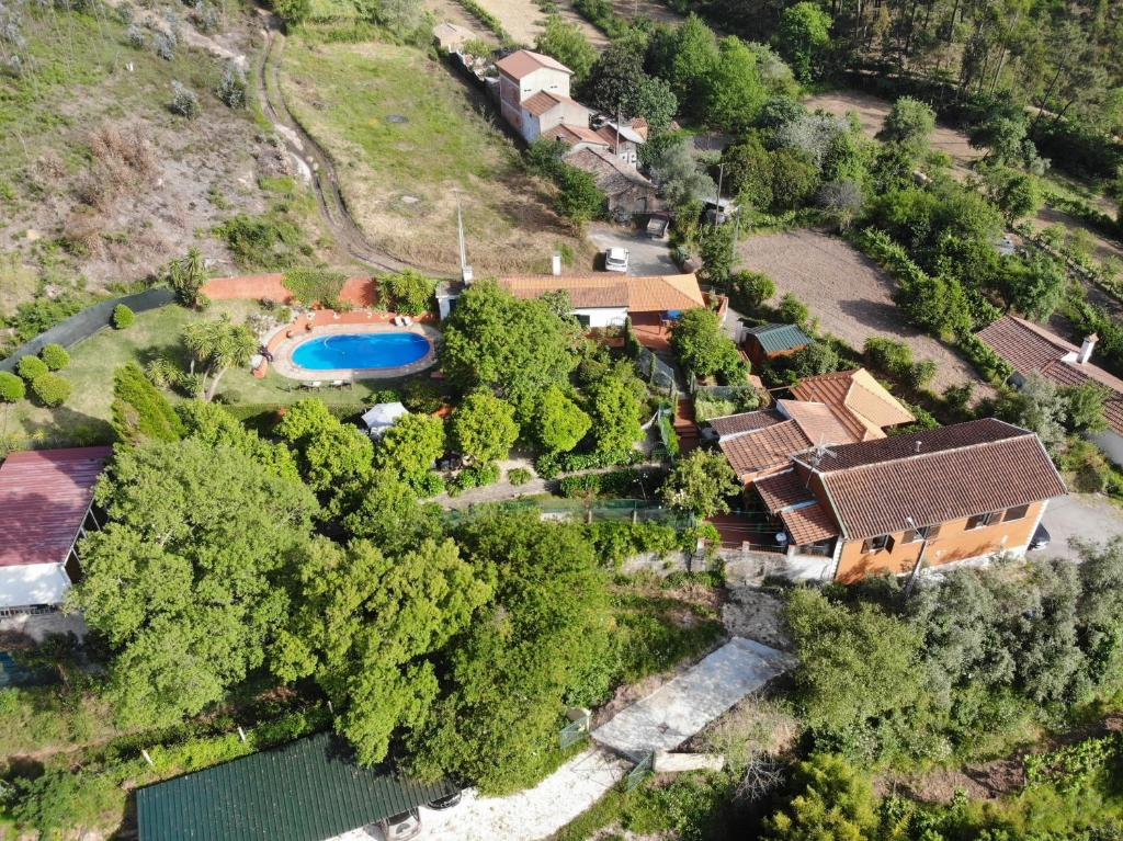 A bird's-eye view of Vale da Silva Villas