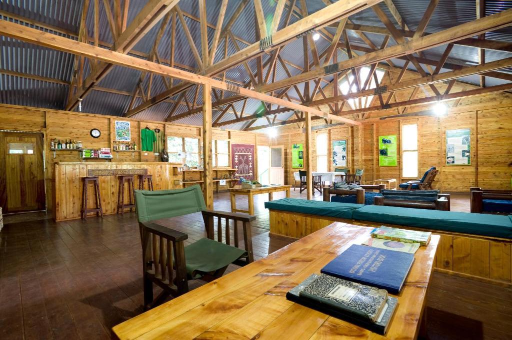 Restavracija oz. druge možnosti za prehrano v nastanitvi Budongo Eco Lodge