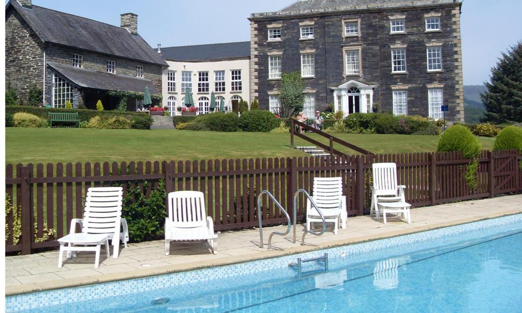 The swimming pool at or near Macdonald Plas Talgarth Resort