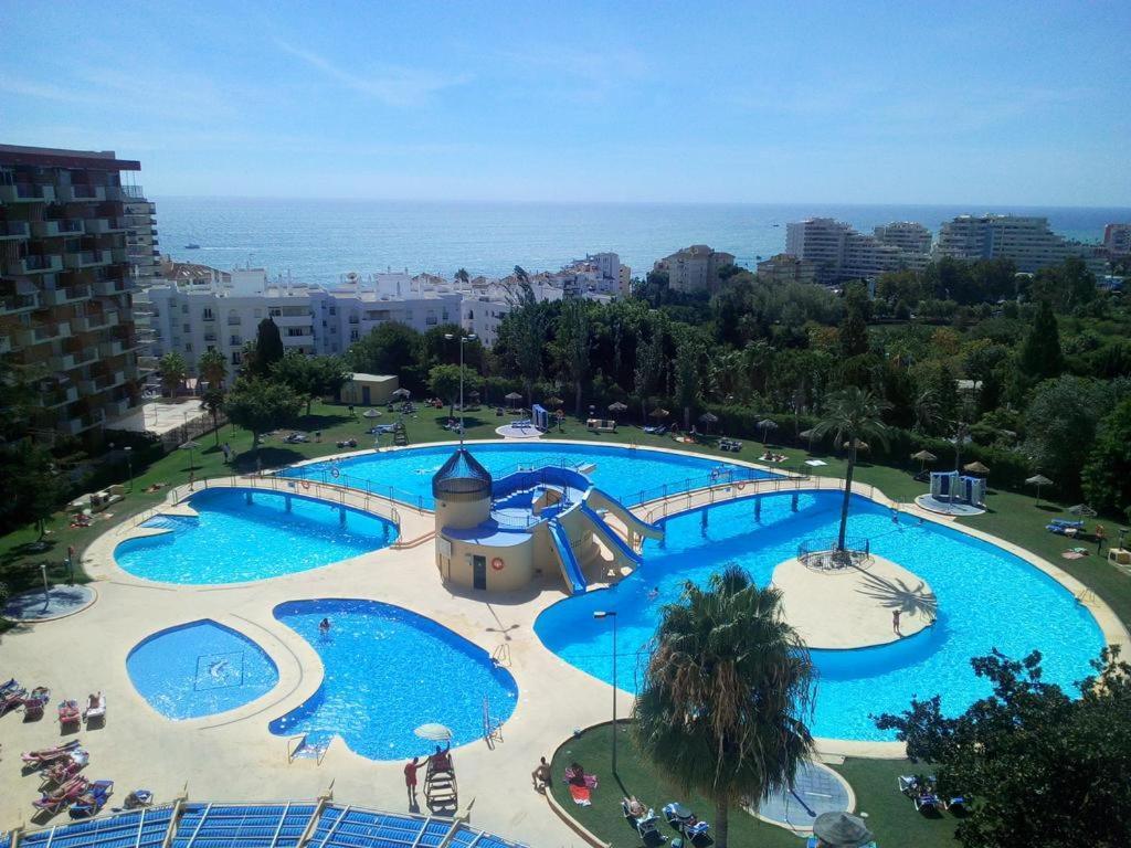 Vista de la piscina de Holiday Minerva o alrededores