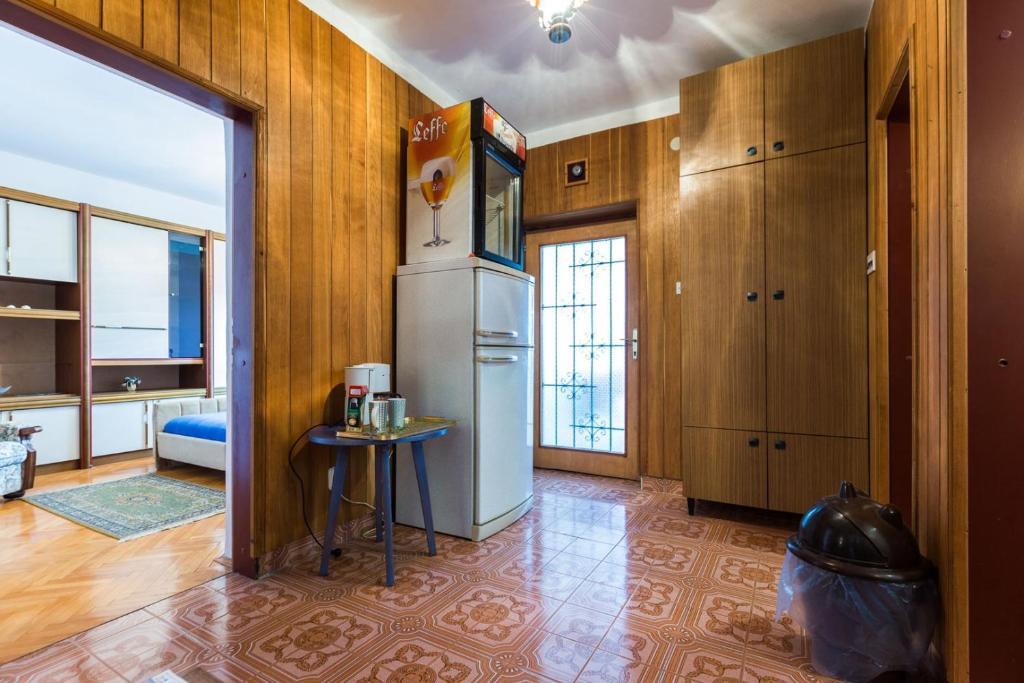 A kitchen or kitchenette at Rooms Marija