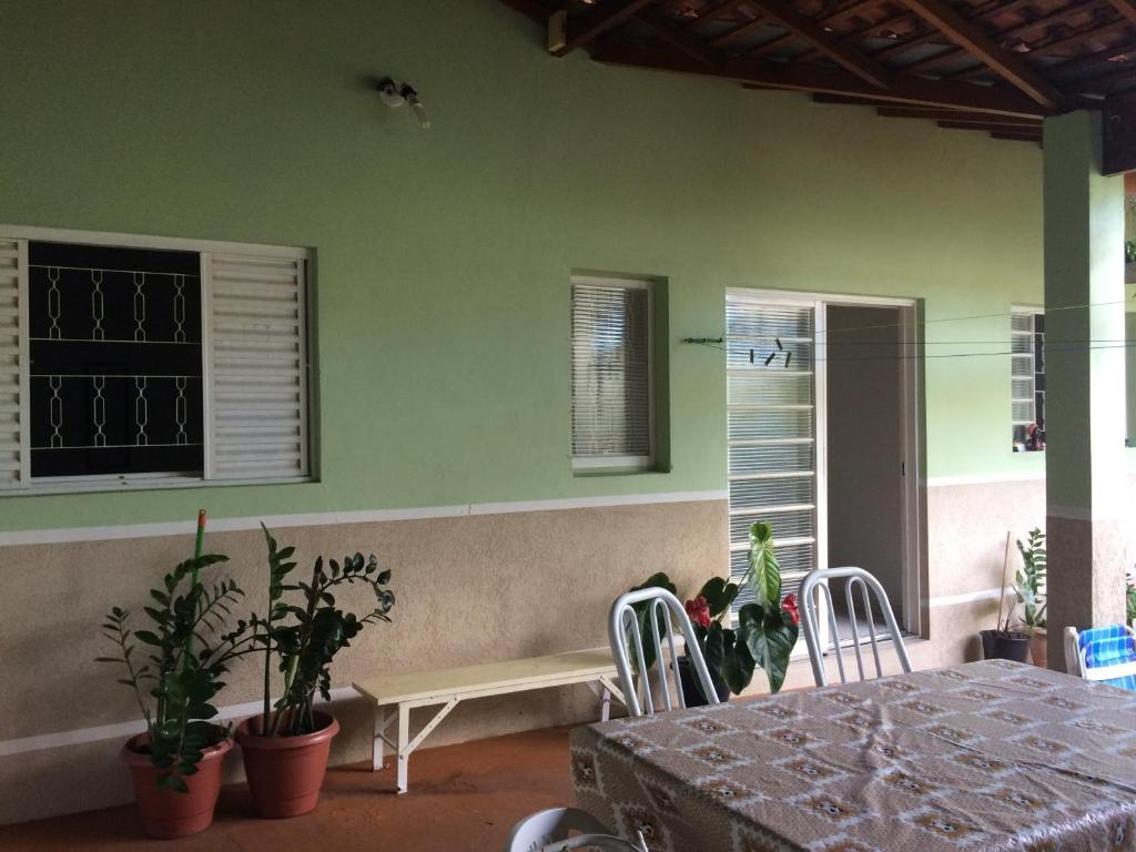 A balcony or terrace at Casa Prox Camara Municipal
