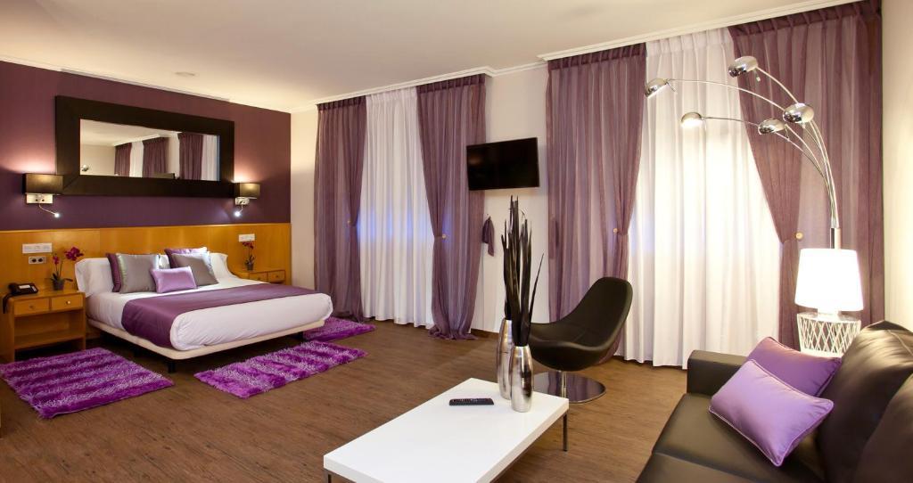 Zona de estar de Hotel Palacio de Cristal